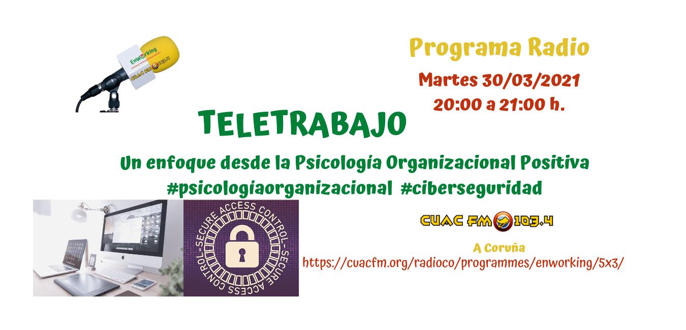 Teletrabajo: un enfoque desde la Psicología Organizacional Positiva (POP)